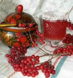 Калина ягода, сироп