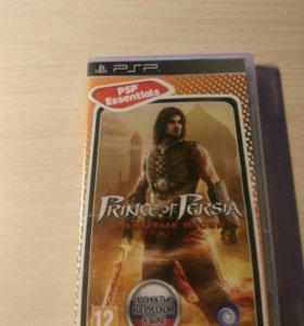 Диск с игрой Prince of Persia Забытые пески на PSP