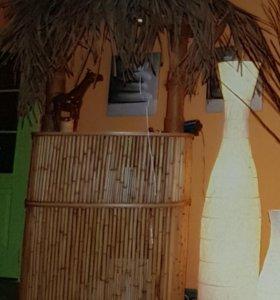 стойка из бамбука