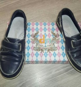 Туфли на мальчика кожа размер 34