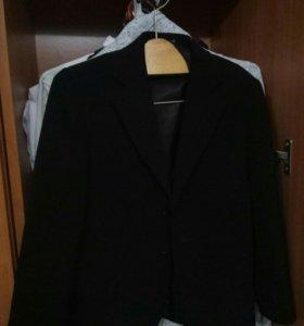 Пиджак+жилетка мальчик 7-8лет