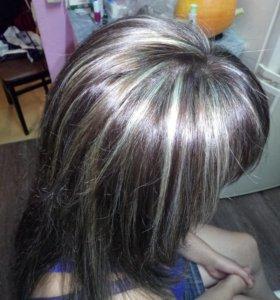 Стрижка, покраска, плетение афро кос