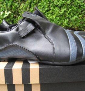спортивные из натуральной кожи кроссовки 42 р-р