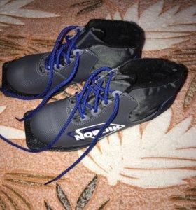Лыжные Ботинки 40 и 37 размер