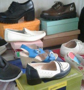 Туфли новые раз40-43жен.  И другие размер