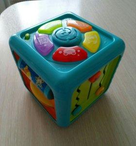 Кубик развивающий моторику