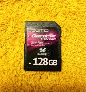 Карта памяти SD XC 128Gb