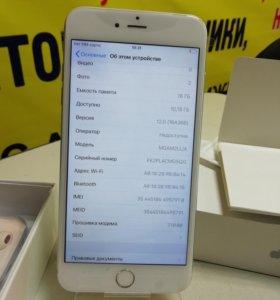 Телефон iPhone 6 plus silver 16gb