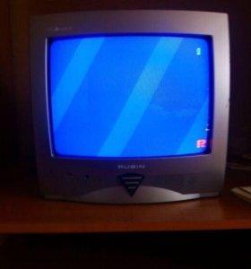 Цветной телевизор Рубин