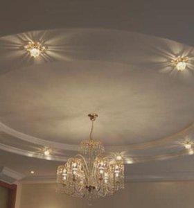Потолок сатиновый