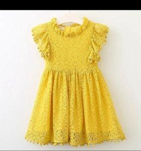 Платье на подкладе новое