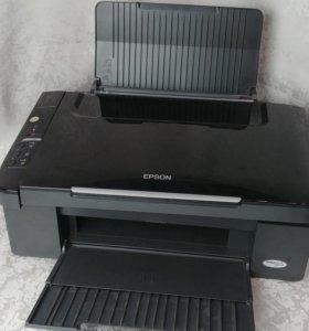 Принтер с системой