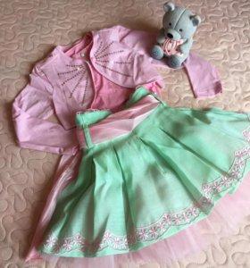 Нарядный костюм на девочку