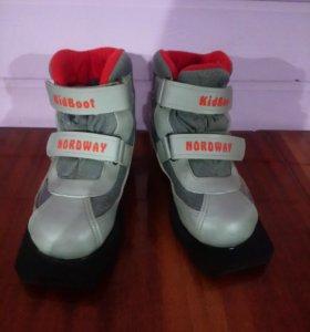 Ботинки лыжные Kid Boot Nordway
