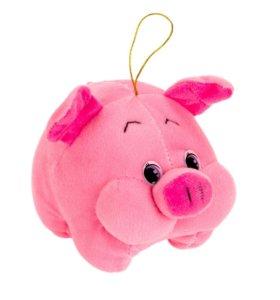 Мягкая игрушка свинка - символ нового 2019 года