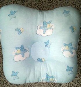 Подушки для новорожденного 2 шт