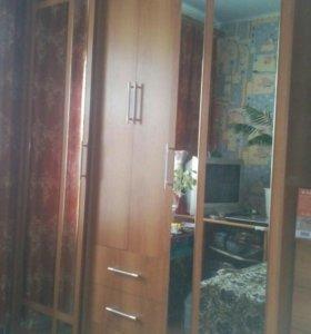 Мебель (шкаф-купе, комод, стол письменный)