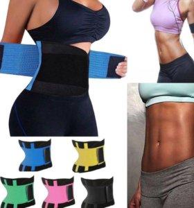 Пояс жиросжигатель для похудения и поддержки спины
