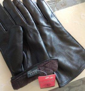 Новые перчатки мужские