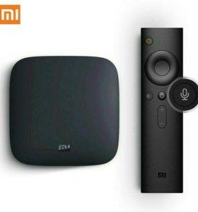 Smart TV приставка Xiaomi MI BOX 3 4 К wifi