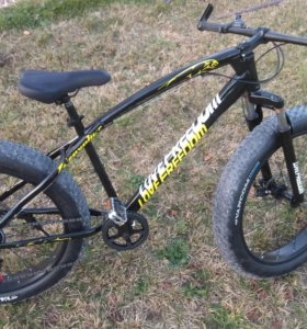 Велосипед фат-байк, fat-bike