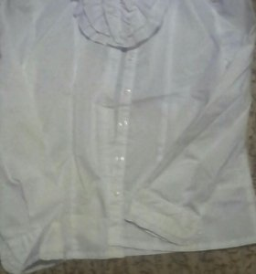 Блузка белая на девочку