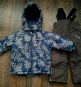Комплект зимний Crockid куртка,комбез+шапка🎁