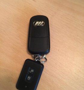 Ключ от lifan x60