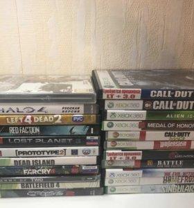Комплект из 22 игр для Xbox 360, прошивка LT 3.0.