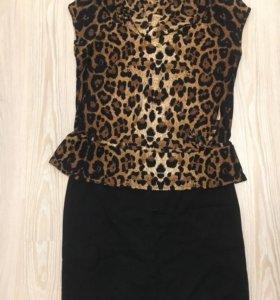 Вещи для беременных юбка и блузка + 🎁