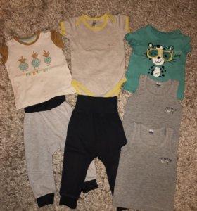 Пакет одежды 80-86 для мальчика