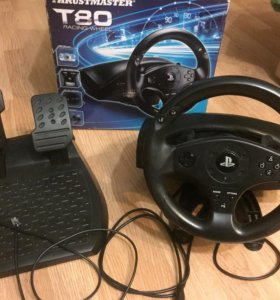 Руль Thrustmaster T80 PS3/PS4.