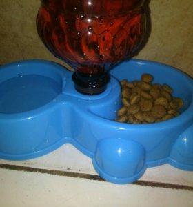 Миска и поилка для мелких пород собак и кошек