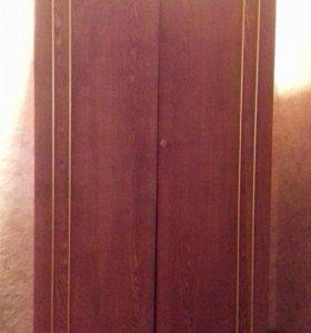 Шкаф 2х створчатый с антресолью