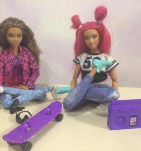 Куклы барби из серии безграничные движения