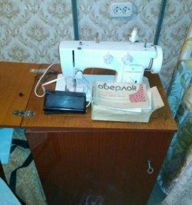 Машинка швейная и оверлог