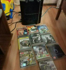 Игровая приставка PlayStation 3, Fat 80gb