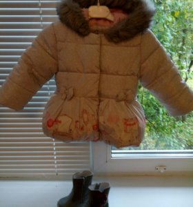 Модная теплая курточка, MOTHERCARE