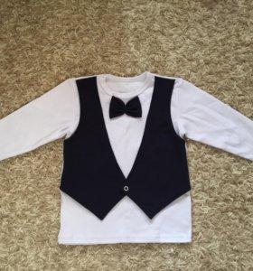 Кофта детская нарядная с длинным рукавом