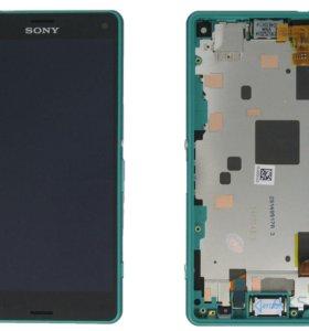 Модуль на Sony Z3 Compact зеленый