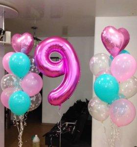 Украшения из шаров для вашего праздника!!!