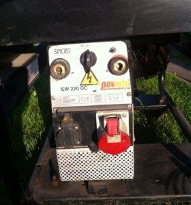 Сварочный бензиновый генератор
