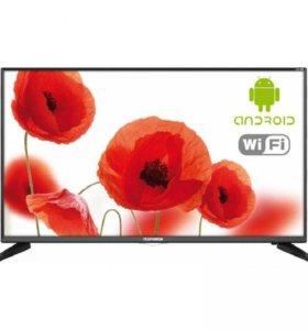 40(102 см) Telefunken TF-LED40, FullHD, Smart TV