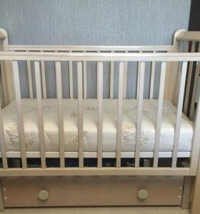 Детская кроватка Кубаньлесстрой Лаванда