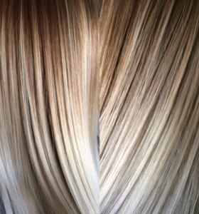 Окрашивание волос/ парикмахер Чехов