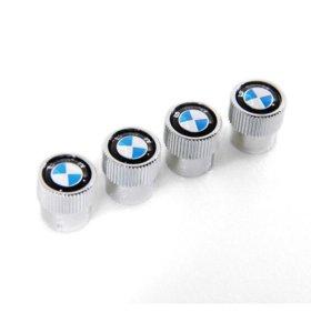 Колпачки на ниппеля BMW новые 4 шт