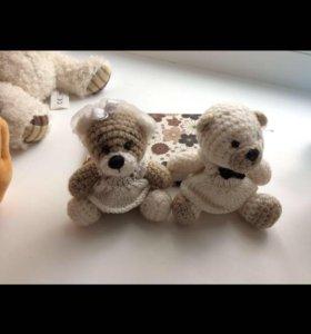 Игрушки ручной работы «Мишки» (Жених и Невеста)