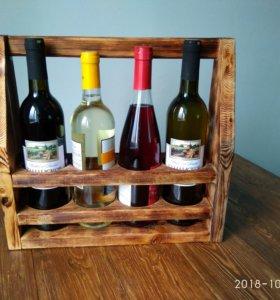 Переноска-ящик-полка под вино