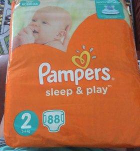 Pampers sleep & play 2