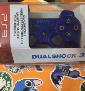 Геймпад Playstation 3 синий, МАГАЗИН, НОВЫЕ